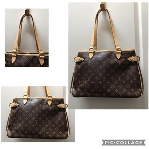 Authentic Louis Vuitton Batignolles Horizontal